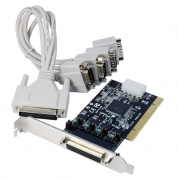 PCI  4XRS232 LOW PROFILE